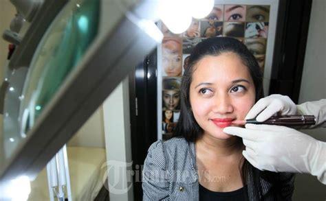 trend fashion trend kecantikan sulam bibir dan sulam alis mempercantik mata lewat alis dengan metode sulam