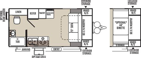 small rv floor plans small travel trailer floor plans www imgarcade com