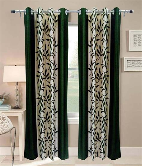 buy one get one free curtains hsr collection green long door eyelet curtains buy 1 get 1