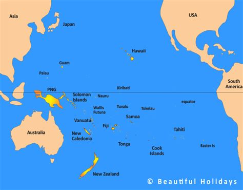 map of south pacific southpacific images search