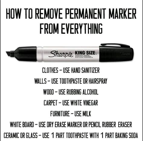 Remove Sharpie From 25 best ideas about sharpie removal on permanent marker removing sharpie and