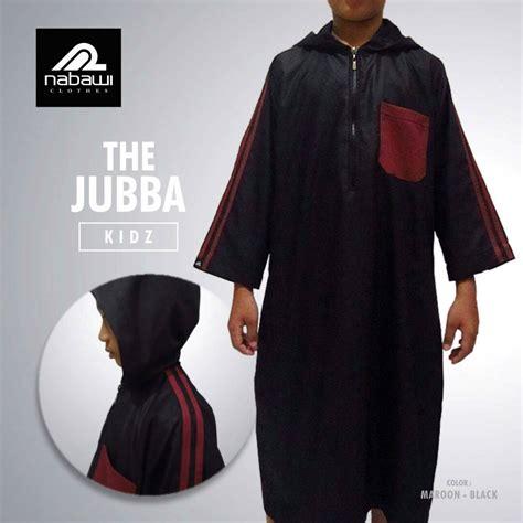 Nabawi Baju Muslim gamis jubah hooded nabawi untuk anak muslim terbaru