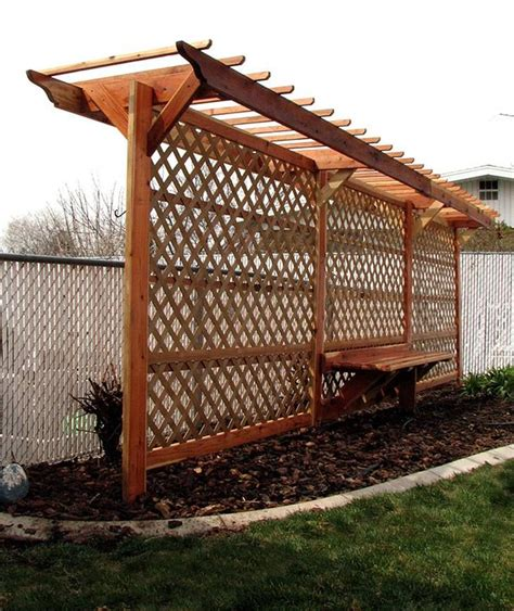 bench with trellis 1000 images about gardening on pinterest outdoor