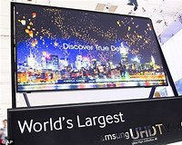 Image result for What is the Biggest TV in the World?. Size: 200 x 160. Source: www.dailymail.co.uk