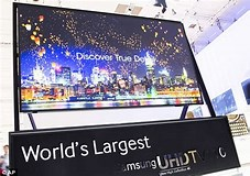 Image result for What is The biggest home Tv?. Size: 227 x 160. Source: www.dailymail.co.uk