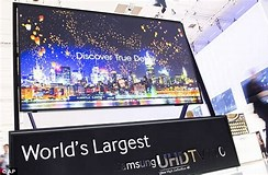 Image result for What is the biggest TV in the world?. Size: 244 x 160. Source: www.dailymail.co.uk