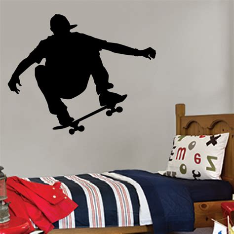 skateboarding wall stickers skateboarder wall decal style 2 wall decals
