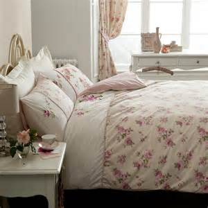 shabby chic floral rose duvet set