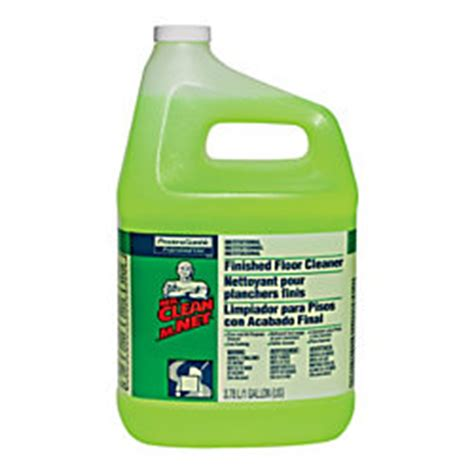1 gallon bottle floor cleaner mr clean finished floor cleaner 1 gallon bottle unscented