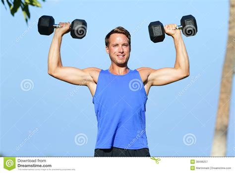 Fits Power Lifting Fitness Lifting Fitness fitness dumbbell weights outside royalty free
