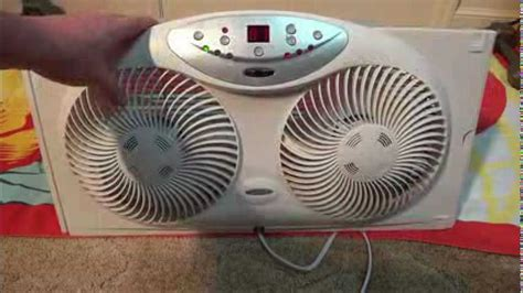 bionaire twin window bionaire window fan unboxing and quick review youtube