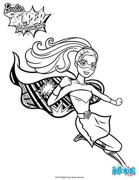 barbie coloring pages power rangers barbie super power saves the day coloring page more