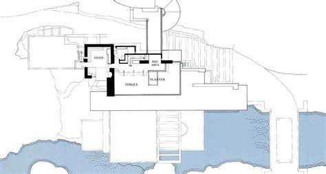 casa sulla cascata pianta archidiap 187 fallingwater house