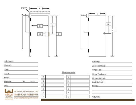 How To Measure A Door by Door Frame Door Frame Measurement
