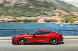 Aston Martin Vanquish Zagato Aston Martin Vanquish Zagato Side In Motion Motor Trend