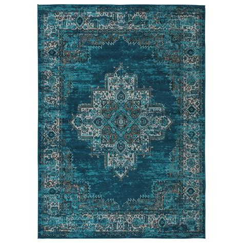 Teal Blue Area Rugs Signature Design By Traditional Classics Area Rugs R402591 Blue Teal Large Rug