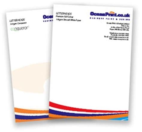 Business Letterhead Requirements Uk Company Letterhead Printed Letterhead Design