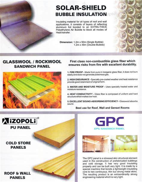 Home Depot Design Store Solar Shield Bubble Insulation Glasswool Rockwool
