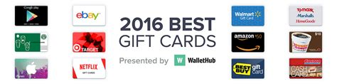 Best E Gift Cards - 2016 s best gift cards wallethub 174