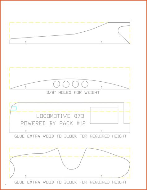 pinewood derby template pinewood derby car templates pinewood derby template pdf