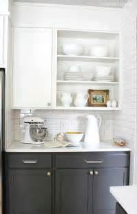 Kitchen Cabinets Open Shelving by 10 Creative Ways To Update Kitchen Cabinets My Colortopia