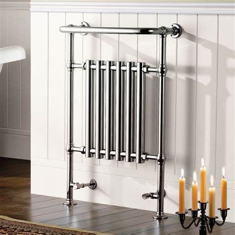 traditional chrome towel rail radiator victoria premium