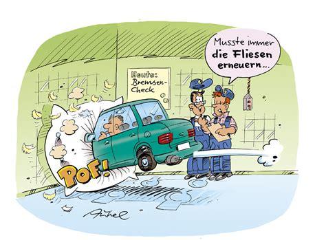 Werkstatt Comic by Bremsen