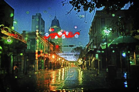 christmas lights at 3 georges in mobile al digital art by