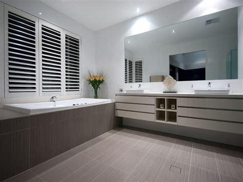 Modern Grey And White Bathroom Ideas Modern Bathroom Design With Corner Bath Using Ceramic
