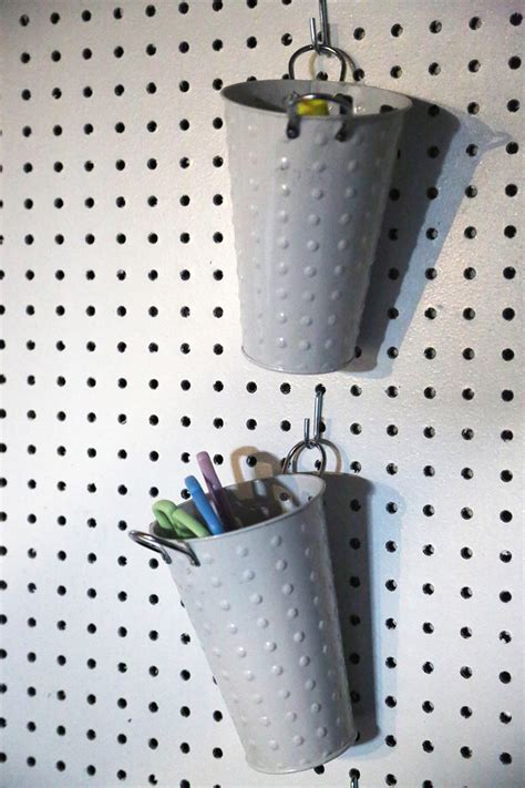 diy pegboard how to maximize craft storage with a diy pegboard life