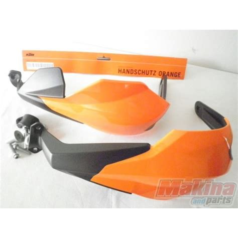 Ktm Handguards 6030217900004 Handguards Closed Ktm Orange Black