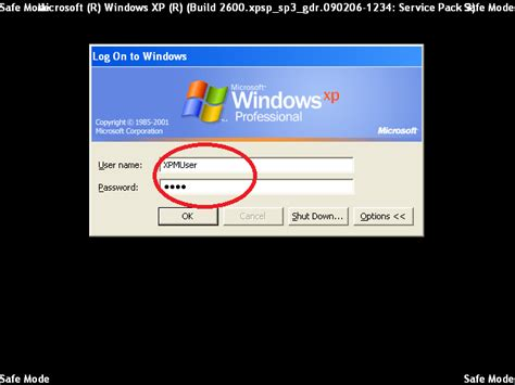 reset password xp safe mode how to start windows xp in safe mode almost painless