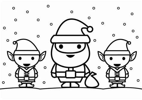 imagenes de santa claus para blackberry dibujo para colorear santa claus con elfos img 26444