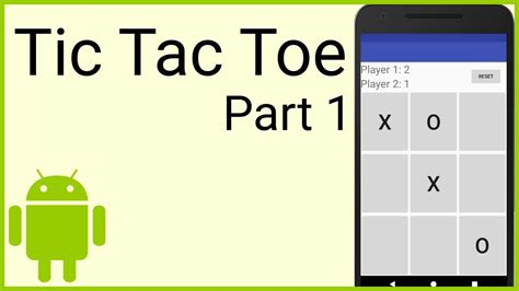 android game layout tutorial how to make a tic tac toe game in android part 1 the