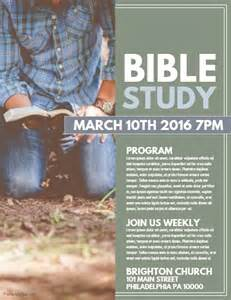 bible study template postermywall
