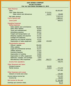 9 multiple step income statement case statement 2017