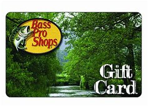 Bass Pro Shops Gift Cards - bass pro shop gift card badcarcredit com