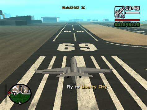 cara naik pesawat jet gta reregean cara masuk ke libertycity di gta sanandreas