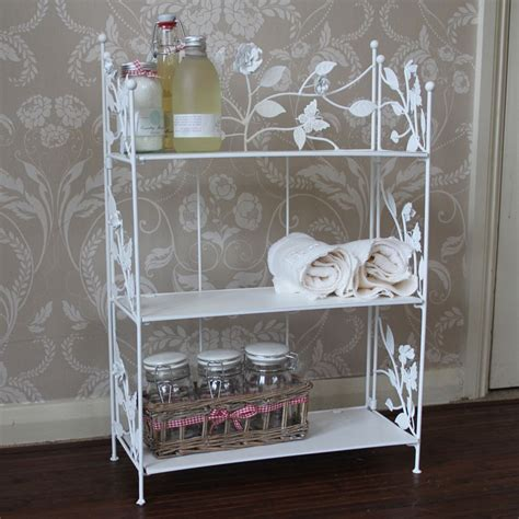 cream wall shelves for bedrooms cream rose butterfly metal shelf unit bathroom bedroom