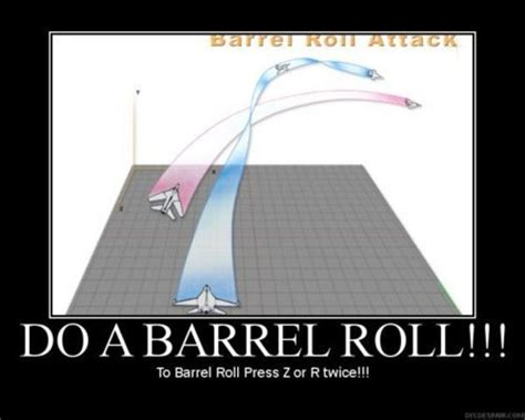 Barrel Roll Meme - image 30437 do a barrel roll know your meme