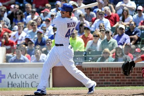 anthony rizzo swing chicago cubs sign anthony rizzo to seven year extension