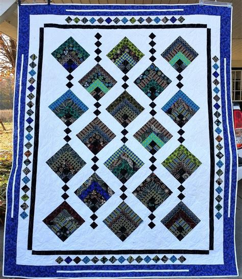 Patchwork Gardens - hanging gardens pattern from cozy quilt designs