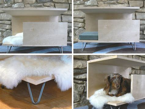 modern indoor dog house pawsitively modern s indoor dog den swanky for wally treats goodies puppy
