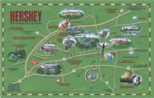 Hershey Pennsylvania Map by Fun Map Of Hershey Hershey Pennsylvania Pinterest