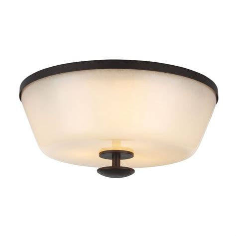 circular flush fitting low ceiling light ivory glass