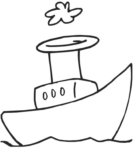 boat cartoon black and white cartoon boat drawing clipart best