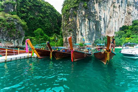 boat tour thailand krabi to hong island long tail boat tour my thailand tours