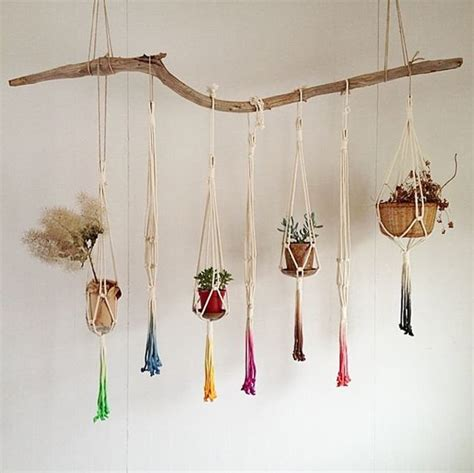 How To Make Macrame Plant Hangers - macrame plant hanger patterns to embellish any rustic or
