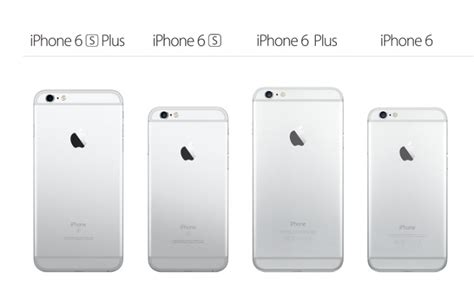 apple iphone 6s plus vs iphone 6 plus specs comparison the key differences