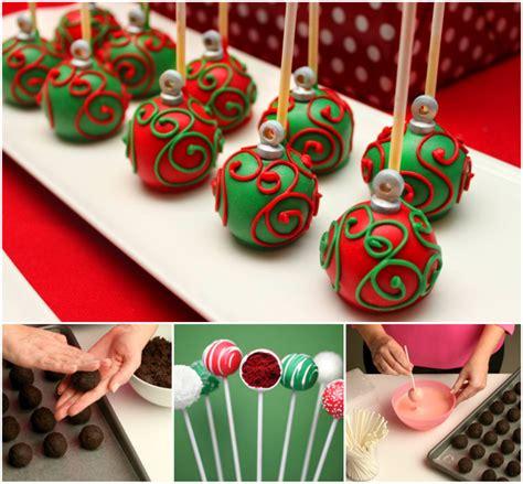 cake pop ornaments wonderful diy ornament cake pops